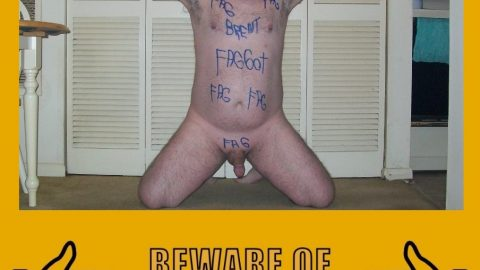 Fag Brent looking for exposure…anyone want to help