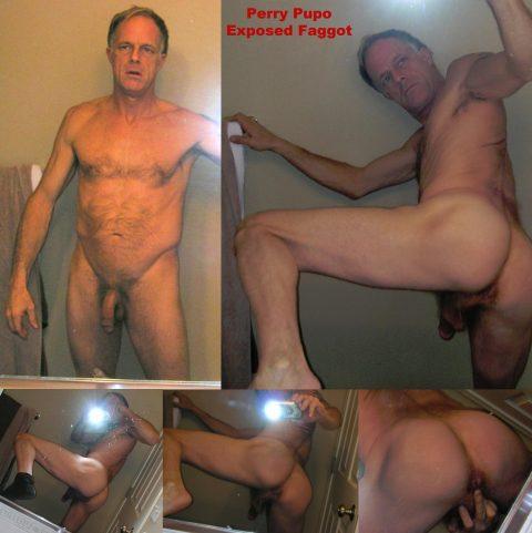 PERRY PUPO EXPOSED FAGGOT SPOKANE BOTTOM GAY PROSTITUTE