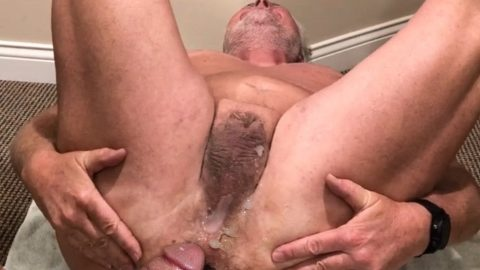 Tiny dicked subslut faggot readies himself for the next cock