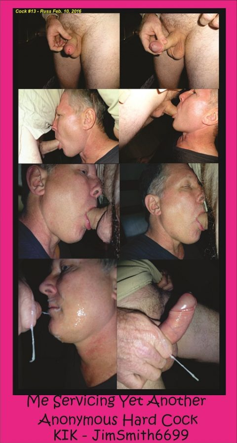 Eating Anonymous Cock
