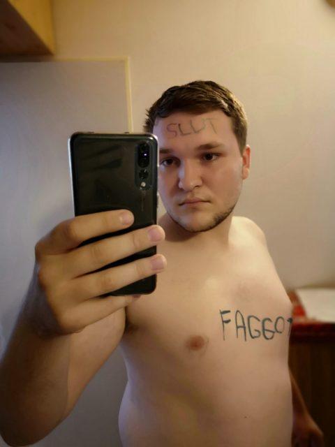 Faggot Viktor Verner kik renro1
