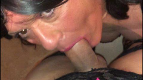 Portia sucks Bellas yummy cock