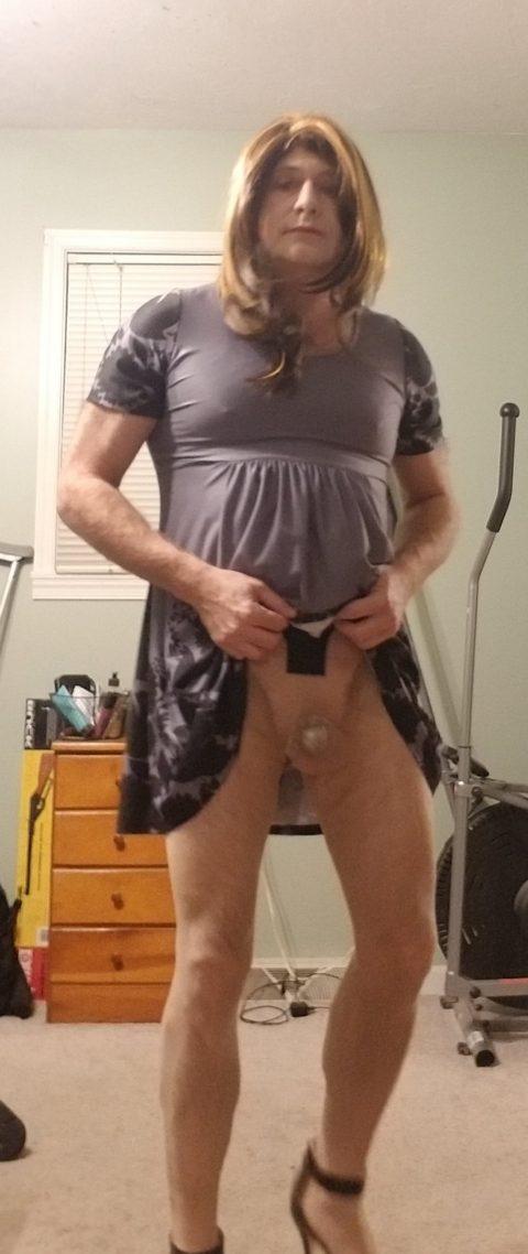 Tiny Dick in Chastity