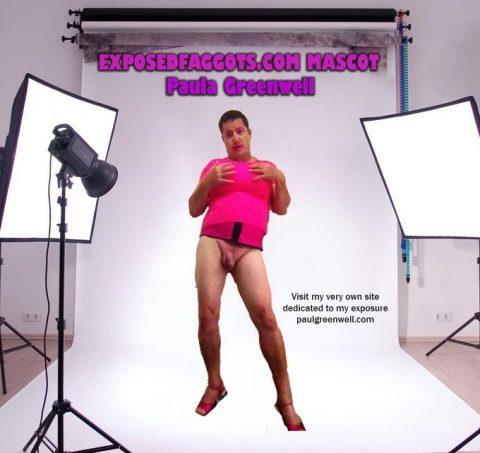 exposedfaggots.com mascot sissy paula greenwell