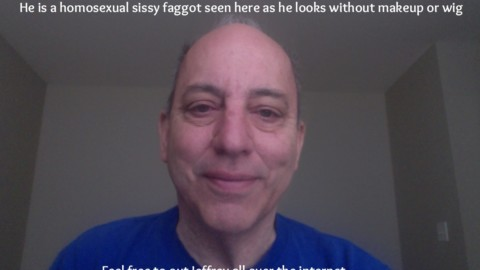 This is JEFFREY ROSSMAN, a sissy faggot from Connecticut, being exposed and outed so he can be recognized by people who know him